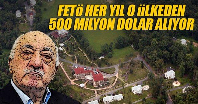 FETÖ, ABD'den her yıl 500 milyon dolar alıyor