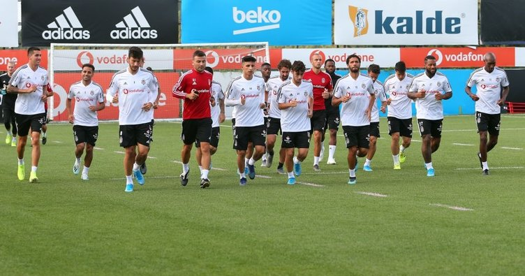 Beşiktaş'ta Gazişehir Gaziantep maçı hazırlıkları başladı