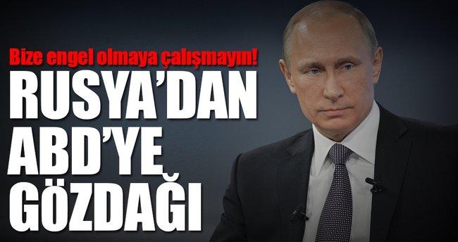 Rusya'dan ABD'ye gözdağı