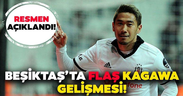 Son dakika: Beşiktaş'ta flaş Kagawa gelişmesi! Resmen açıklandı…