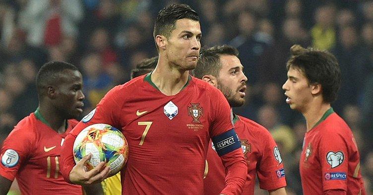 Cristiano Ronaldo'dan 7. dalya! Ukrayna 2 - 1 Portekiz (MAÇ SONUCU)