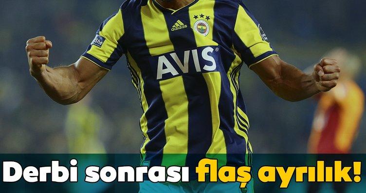 Fenerbahçe'de derbi sonrası flaş ayrılık!