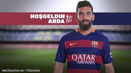 Arda Turan'ın Barcelona'ya transferi Twitter'ı salladı