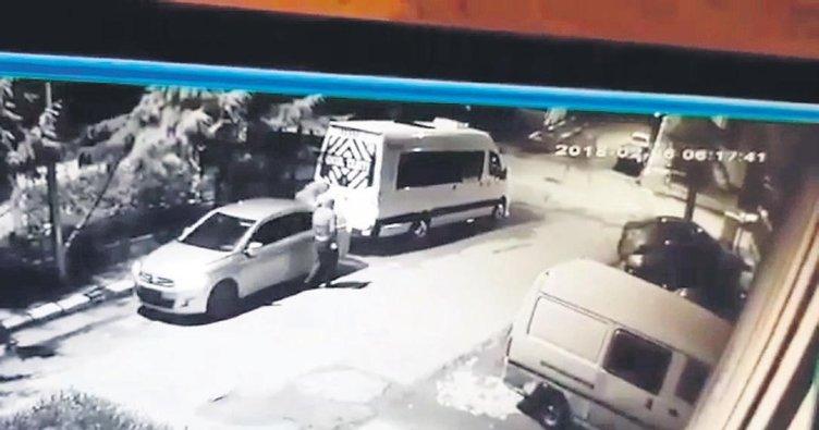 Stepne hırsızları yakalandı