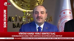 Bakan Varank müjdeyi verdi: Koronavirüse Covid-19 karşı etkili bir ilaç ürettik