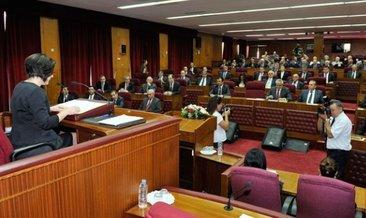 KKTC'de yeni kabine listesi mecliste okundu