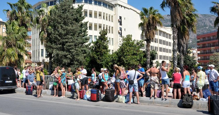 Turizmde Ruslar yine zirvede