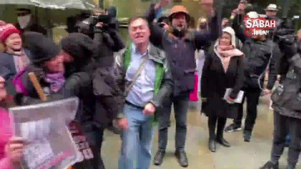 Assange'ın ABD'ye iade talebine İngiltere'den ret   Video