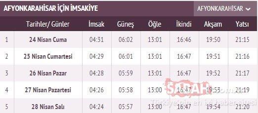İstanbul iftar vakti saat kaçta? Diyanet 2020 Ramazan imsakiyesi ile 28 Nisan İstanbul iftar vakti ve saati - Akşam ezanı saat kaçta okunacak?