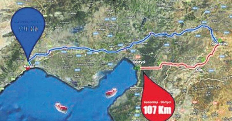 Hassa-Dörtyol Tüneli ile bölge denize bağlanacak