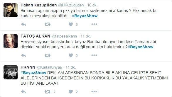 Beyaz Show'da PKK propagandası!