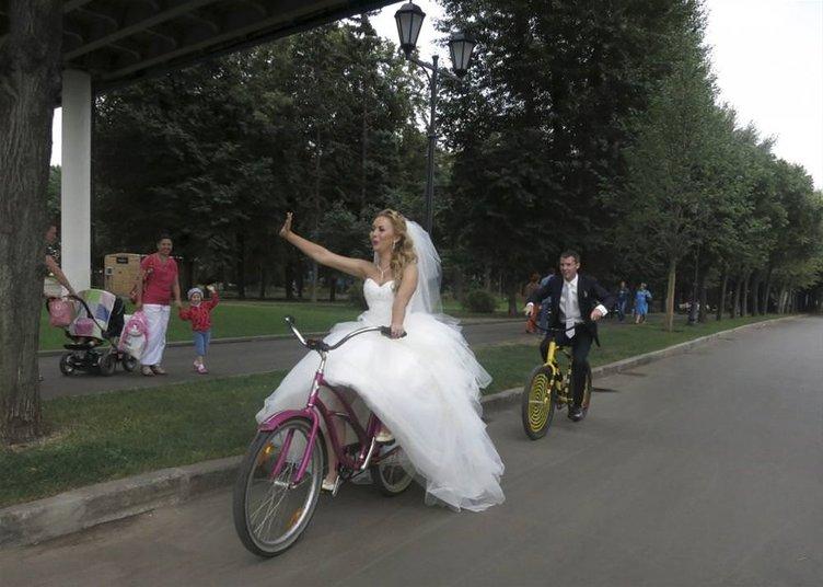 Düğün günü çıldıran çiftler