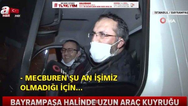 Yasak Sonrası İstanbul'da Araç Trafiği Dikkat Çekti! / A Haber
