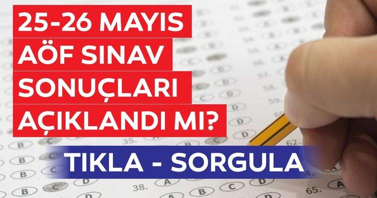 AÖF sınav sonuçları bugün açıklanacak mı? 2019 Anadolu Üniversitesi AÖF sınav sonuçları sorgulama sayfası burada