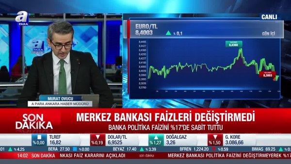 Son dakika: Merkez Bankası faiz kararını açıkladı | Video
