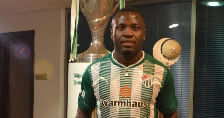Bursaspor, Dzon Delarge ile sözleşme imzaladı