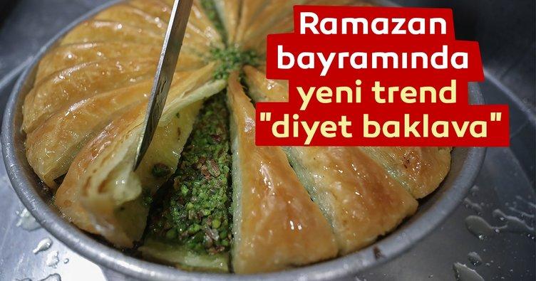 Ramazan bayramında yeni trend diyet baklava