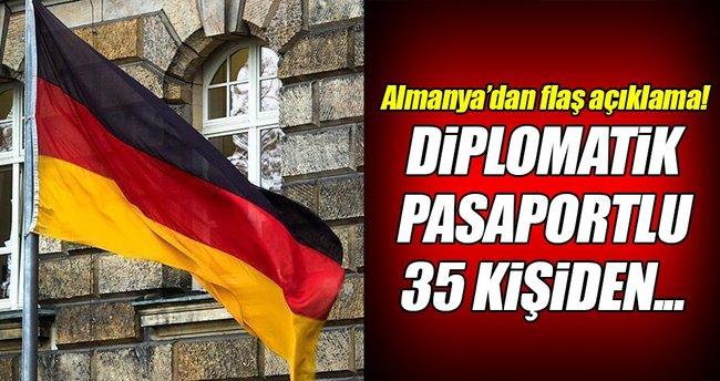 35 kişiden Almanya'ya iltica başvurusu!