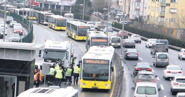 Metrobüs seferleri FSM'den sağlanacak