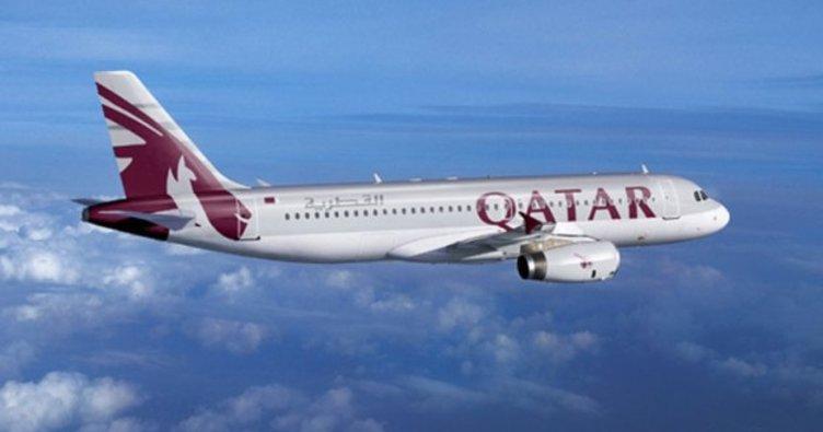 Katar'a uçuşlar durduruldu