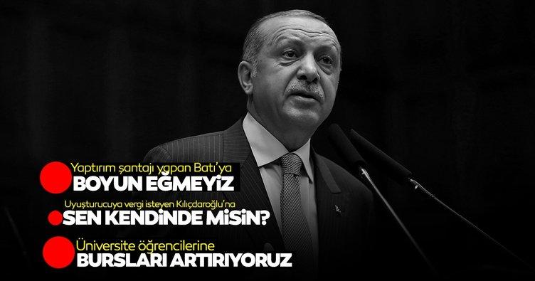 Başkan Erdoğan'dan son dakika açıklamaları: 2021 burs ücretlerini belirledik
