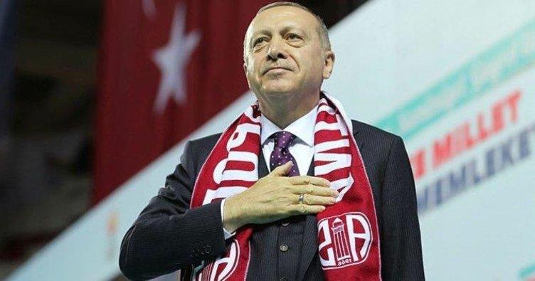 Başkan Erdoğan bugün Antalya'da