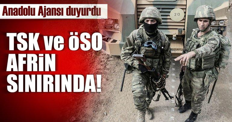 TSK ve ÖSO adım adım Afrin'e ilerliyor.. Ve harekat ilçe merkezine ulaştı