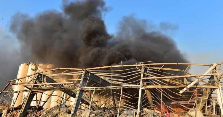 Beyrut'taki patlamada bir THY çalışanı yaralandı