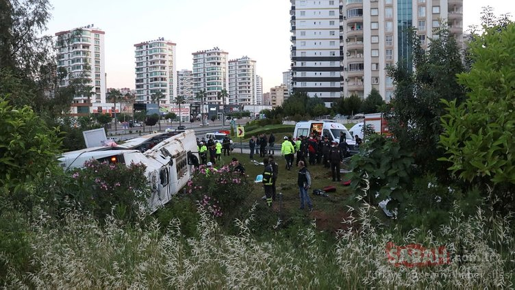 SON DAKİKA HABERİ... Adana'da yolcu otobüsü şarampole devrildi: Çok sayıda ölü ve yaralı var!