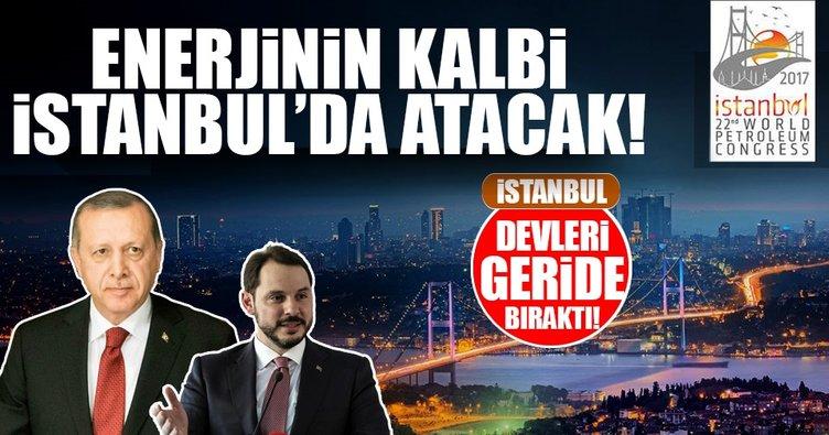Enerjinin kalbi İstanbul'da atacak