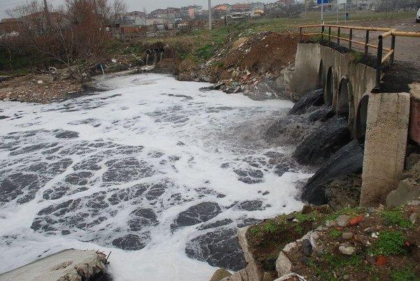 Ergene Nehri kanser saçıyor