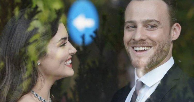 Hande Erçel ilk kez sevgilisi Kerem Bürsin hakkında konuştu! İşte Hande Erçel'in aşk itirafı...