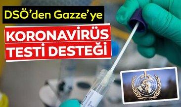 Dünya Sağlık Örgütü'nden Gazze'ye Kovid-19 test çubuğu desteği