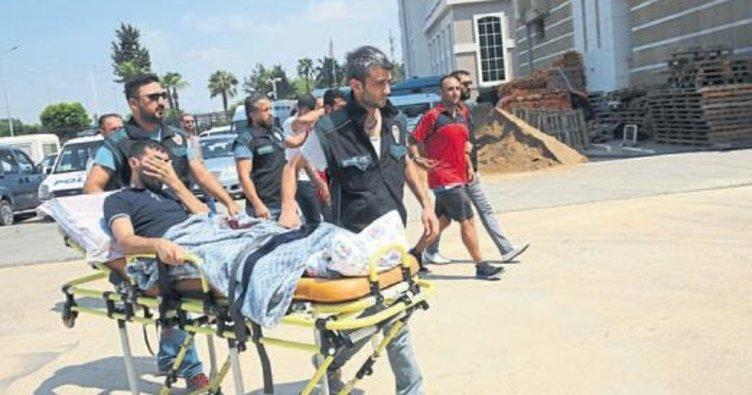 Bacağından vurulunca İstanbul'a kaçırılmış
