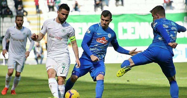 Atiker Konyaspor 0-2 Çaykur Rizespor (Maç Sonucu)