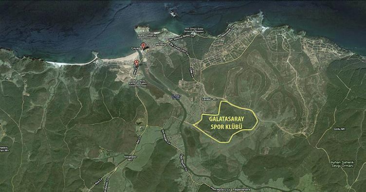 Galatasaray'ın Riva'daki arsası için imzalar atıldı