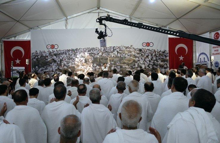 Arafat'ta Vakfe Duası