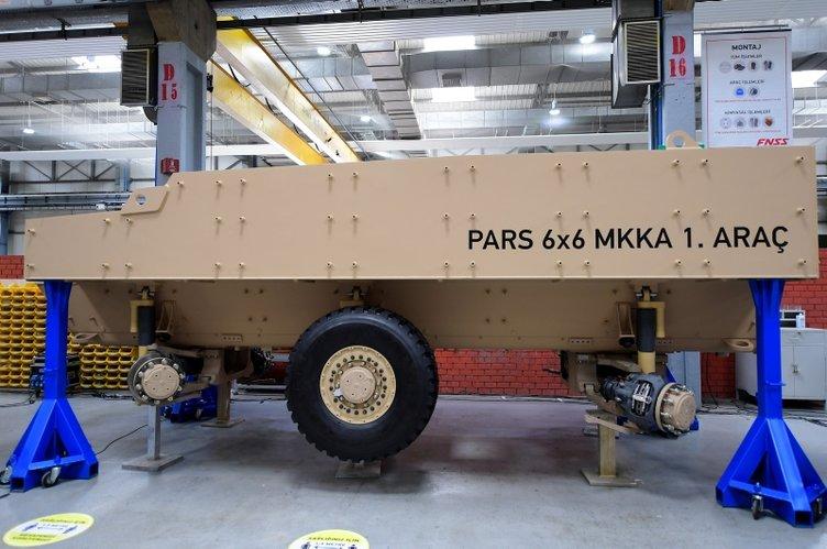 Pars'ın ilk montajı yapıldı! Dünyada ilk olacak bazı özelliklere sahip