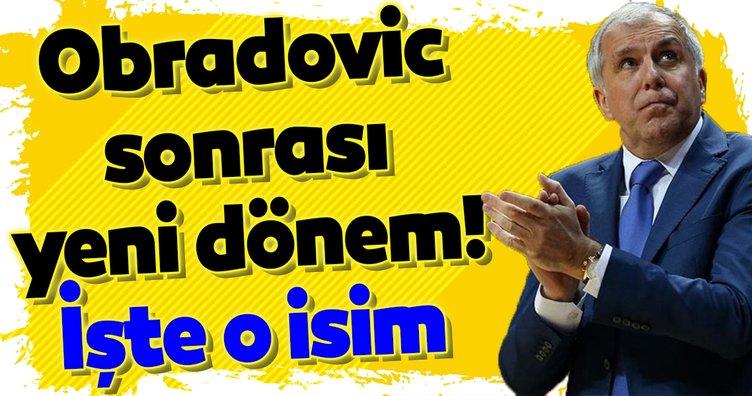 Fenerbahçe'de Obradovic sonrası yeni dönem! İşte o isim