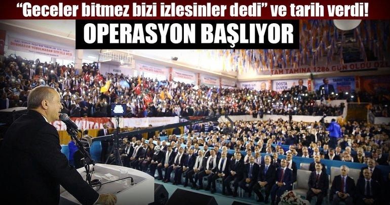 Cumhurbaşkanı Erdoğan'dan çok net 'Afrin Operasyonu' açıklaması