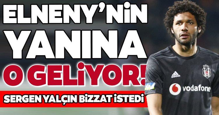 Beşiktaş'ta Elneny'nin yanına o geliyor!