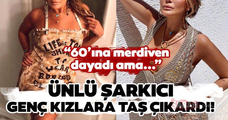 Ünlü şarkıcı Yonca Evcimik'in iddialı kıyafeti şaşırttı! Yonca Evcimik düzgün fiziği ile adeta büyüledi...