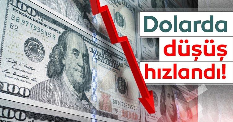 Dolar/TL'de enflasyon sonrası düşüş hızlandı!