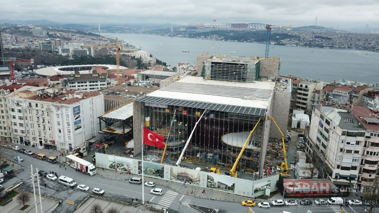 Yeni AKM'de sona doğru! İstanbullular heyecanla bekliyor...