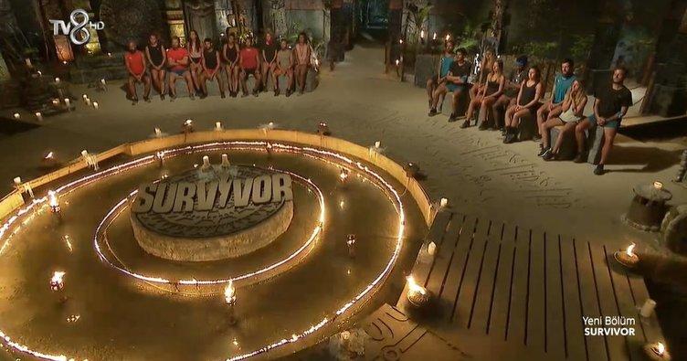 Dün akşam Survivor'da eleme adayı kim oldu? 10 Nisan 2021 Survivor dokunulmazlık oyununu kim kazandı? Ada konseyinde sert tartışmalar