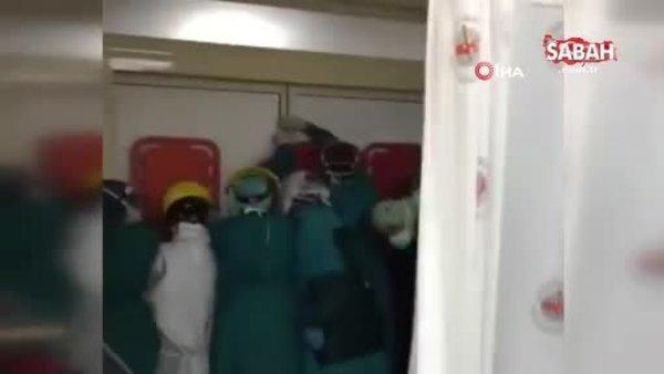 Son dakika: Acil serviste dehşet anları! Hayatını kaybeden hasta yakınları hastaneyi bastı! Sağlık çalışanları böyle korundu | Video