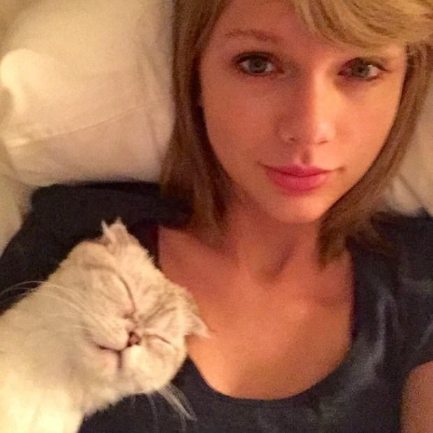 Instagram'ın yeni kraliçesi Taylor Swift oldu