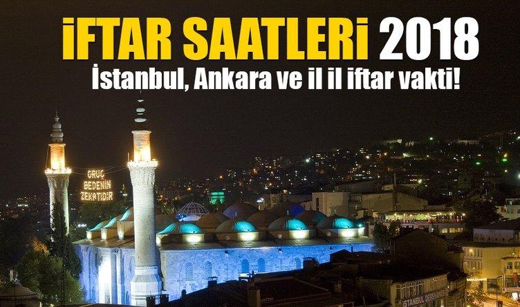 Ramazan imsakiye ve iftar ve sahur saatleri 2018 - İstanbul ve Ankara iftar vakitleri sahur saatleri saat kaçta?