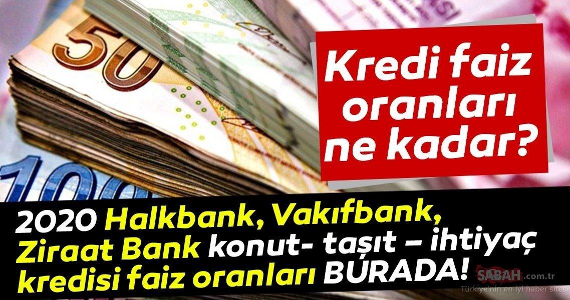 Ziraat bankası konut kredisi hesaplama 2020 son dakika