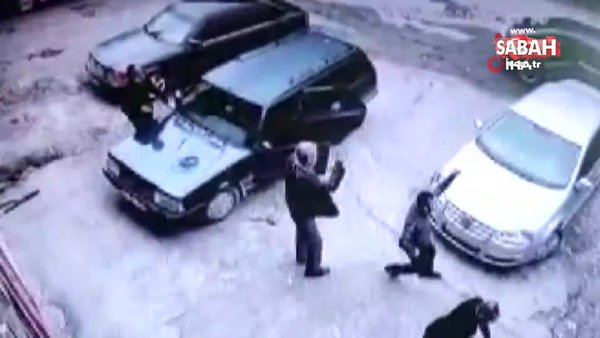 Kastamonu'da husumetli iki grup taş ve sopalarla birbirine girdi | Video